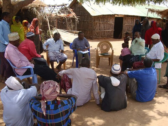 Community training in northern Kenya
