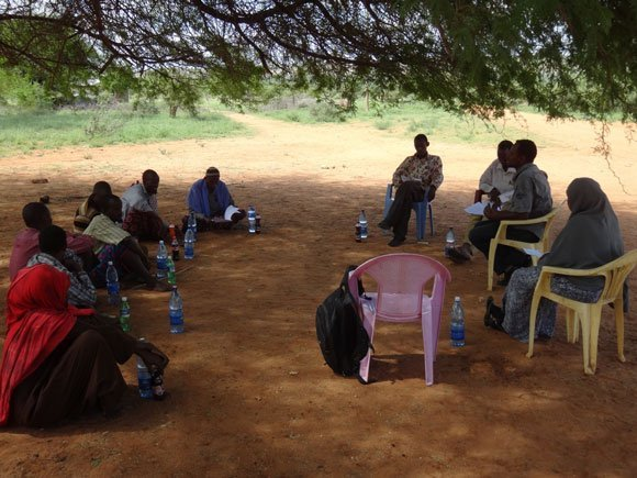 Meeting with Water User Associations in northern Kenya
